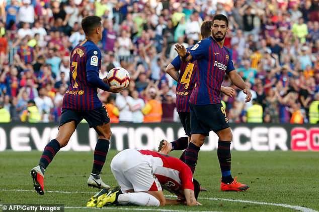 Bilbao đã chơi đầy kiên cường trước Barcelona