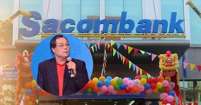 Ông Trầm Bê vẫn còn cổ phần và nghĩa vụ nợ tại Sacombank