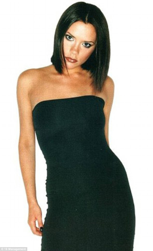 Victoria Beckham trẻ trung và xinh đẹp ngày mới đôi mươi.