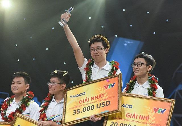 Phan Đăng Nhật Minh vô địch Olympia năm thứ 17