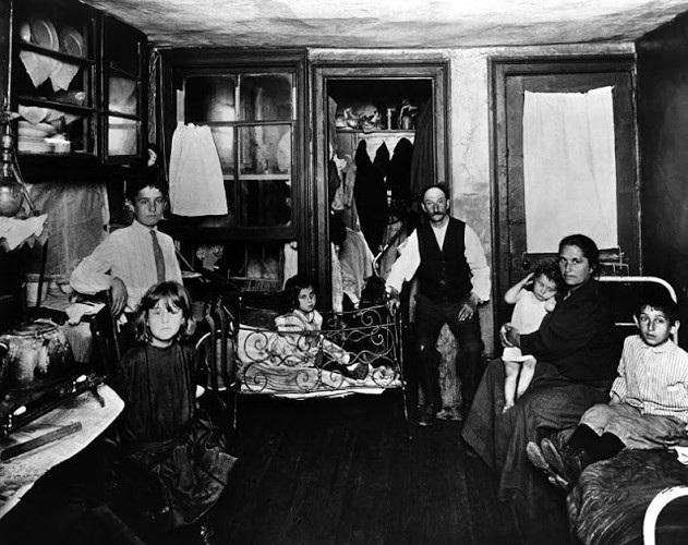 Ảnh hiếm về mặt tối của New York cuối thế kỷ 19 trong các khu ổ chuột - 1