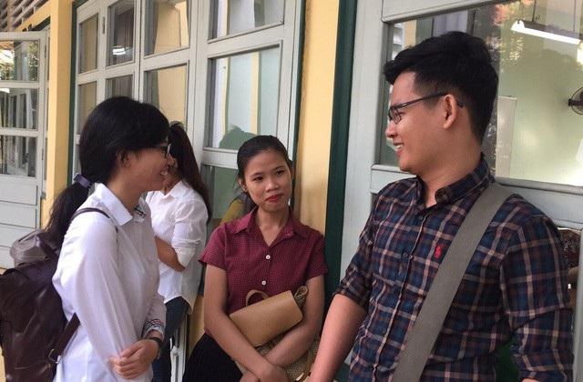 Giáo viên tham gia tuyển dụng viên chức vào ngành Giáo dục TPHCM năm 2018.