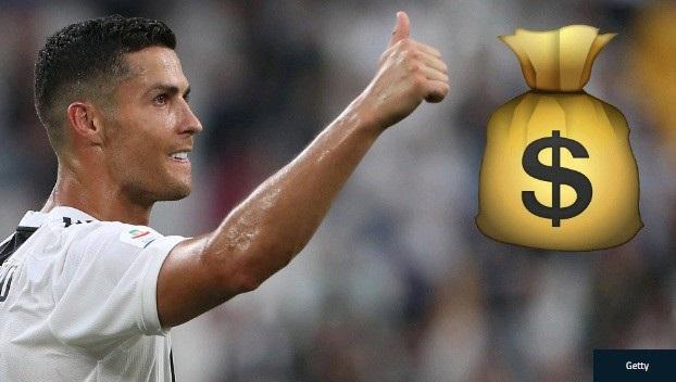 """C.Ronaldo nhận mức lương """"ông hoàng"""", cao gấp 3 lần người thứ 2 ở Serie A - 1"""