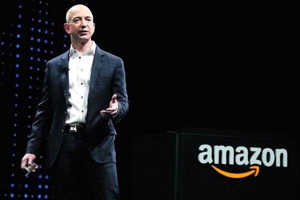 Nhờ Amazon, Jeff Bezos đã trở thành người giàu nhất trong lịch sử nhân loại
