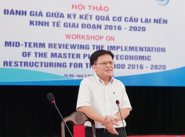 TS Nguyễn Đình Cung, Viện trưởng Viện CIEM, thành viên Tổ Tư vấn kinh tế của Thủ tướng Chính phủ.
