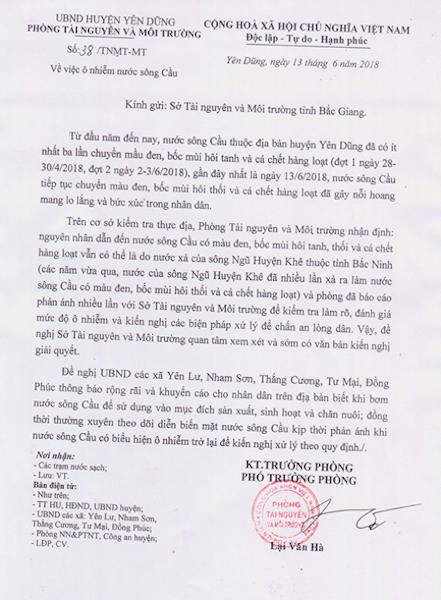 Tỉnh Bắc Giang, Bắc Ninh họp tìm phương án giải cứu sông Cầu đang giãy chết! - Ảnh 4.