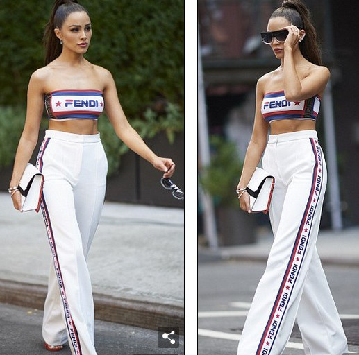 Người đẹp cao 1,65m tới New York quảng cáo show truyền hình mới của cô Model Squad