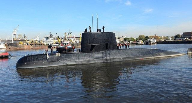 Tàu ngầm ARA San Juan (Ảnh: Reuters)