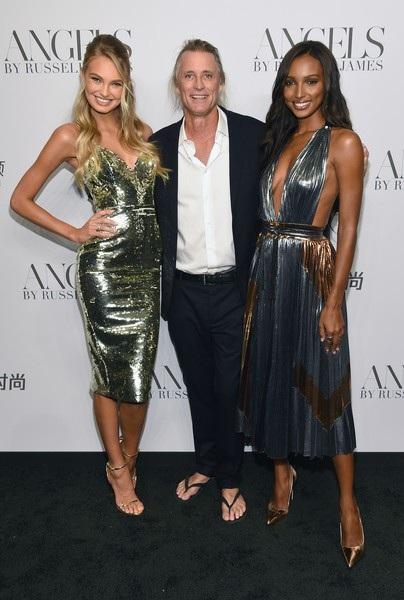 Chân dài Hà Lan Romee Strijd, Russell James và siêu mẫu Mỹ Jasmine Tookes