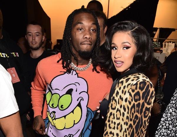 Bà mẹ trẻ bên chồng rapper Offset