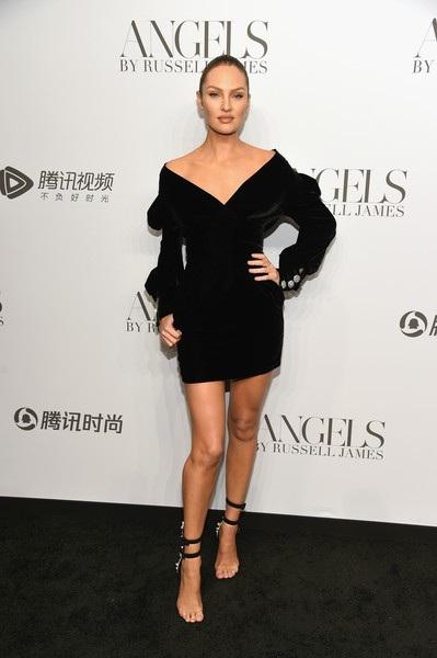 Siêu mẫu Candice Swanepoel dự sự kiện ra mắt sách ảnh của nhiếp ảnh gia danh tiếng Russell James tại New York ngày 7/9 vừa qua