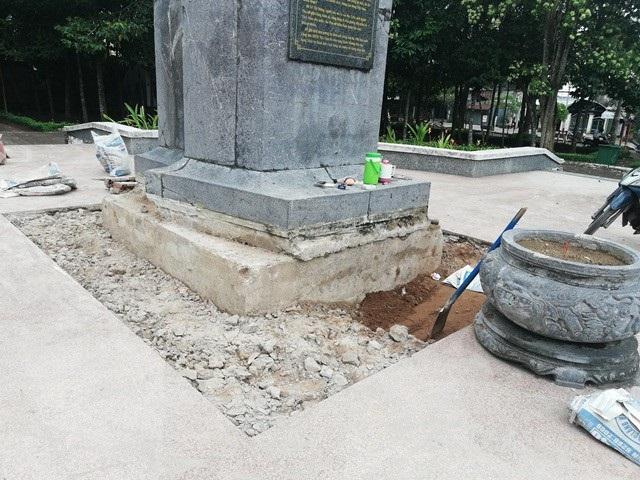 Tượng đài liệt sĩ Lê Thị Riêng bị xuống cấp, Bí thư Tỉnh ủy Bạc Liêu chỉ đạo khắc phục! - Ảnh 7.