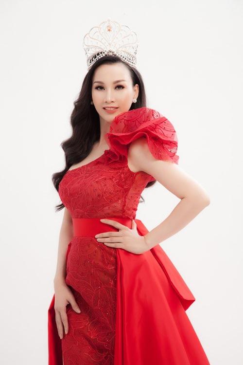 Hoa hậu Paris Vũ.