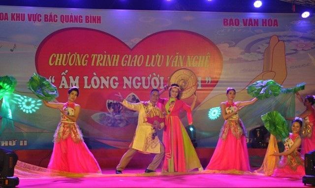 Chương trình giao lưu văn nghệ nhằm gây quỹ ủng hộ bệnh nhân nghèo tại Bệnh viện Đa khoa khu vực Bắc Quảng Bình