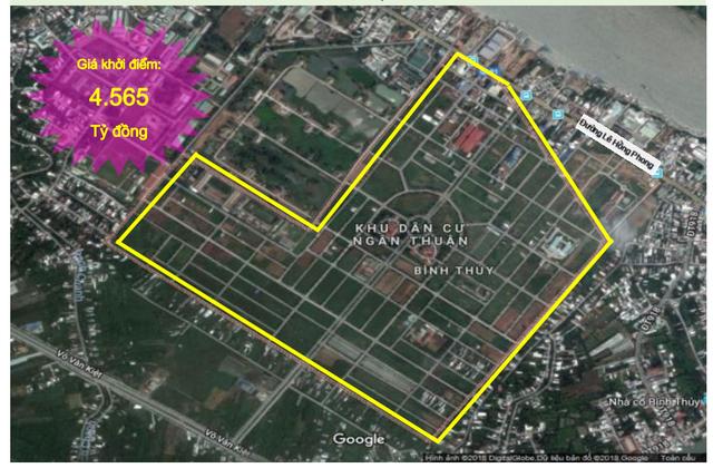 Khu dân cư phường Bình Thủy - Ảnh: Sacombank