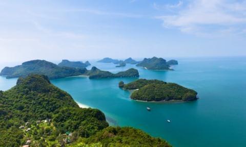 Hòn đảo Koh Phangan, Thái Lan.