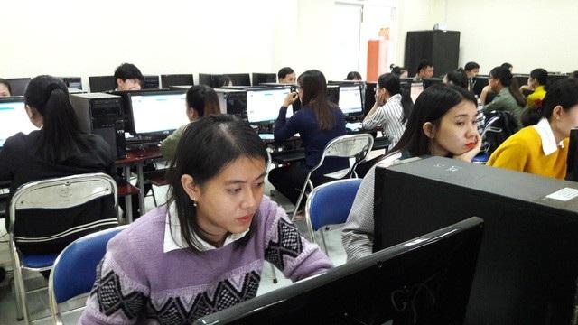 3.000 giáo viên của tỉnh Quảng Ngãi sẽ thi thăng hạng bằng hình thức trắc nghiệm trên máy tính (ảnh minh họa)