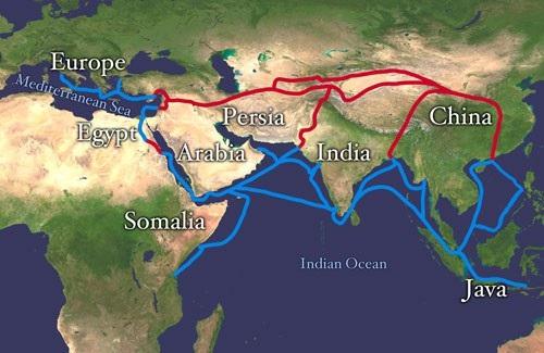 Tham vọng xây ảnh hưởng tại châu Á và châu Âu của Trung Quốc.
