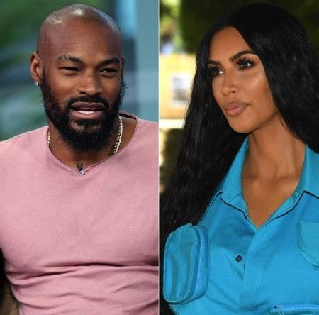 """Màn khẩu chiến giữa Kim Kardashian và Tyson Beckford đã được chính Beckford khơi mào bằng việc chế giễu """"siêu vòng 3"""" của cô Kim là đồ """"giả"""" đã được động chạm dao kéo. Dĩ nhiên, Kim Kardashian cũng ngay lập tức phản kích nói Beckford là """"đồng bóng""""."""