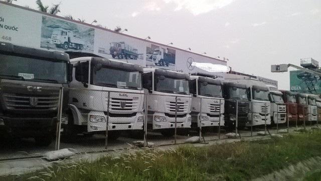 Sau thời gian hưng thịnh, xe tải Trung Quốc bị cạnh tranh quyết liệt, sụt giảm nhập