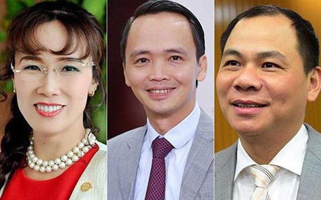 Tài sản cổ phiếu của ba tỷ phú hàng đầu sàn chứng khoán Việt bị rơi rụng không ít trong 1 ngày thị trường biến động mạnh