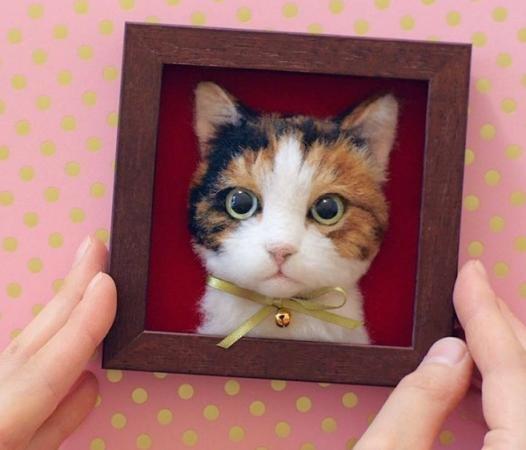 Những tác phẩm quá dễ thương khiến người yêu mèo thổn thức