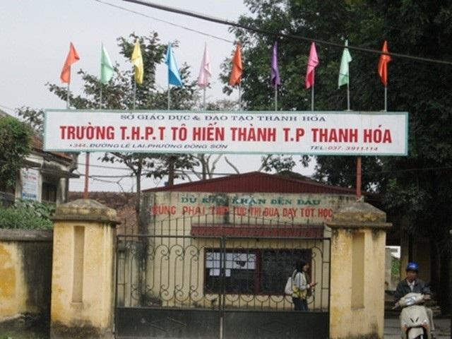 Thời gian tới, tỉnh Thanh Hóa sẽ tiến hành giải thể, sáp nhập hàng chục trường THPT trên địa bàn