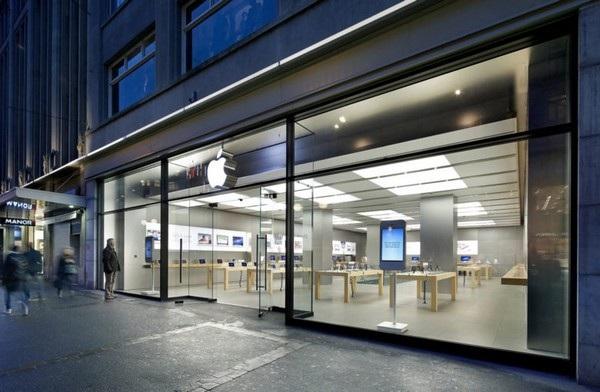Cửa hàng Apple Store tại Zurich, nơi xảy ra vụ việc khiến nhiều người phải sơ tán