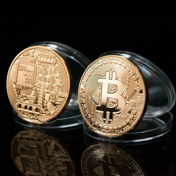 Mỗi đồng Bitcoin có hai mặt họa tiết khác biệt và rất tinh xảo.