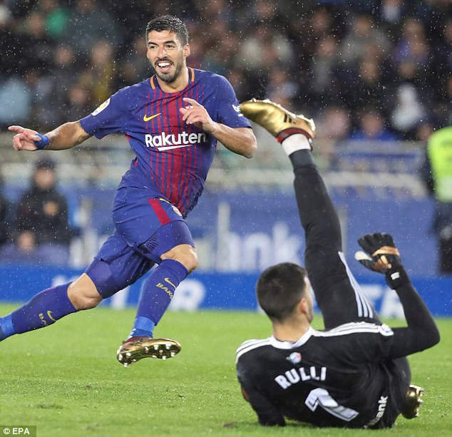 Luis Suarez tỏa sáng với cú đúp và một tình huống kiến tạo