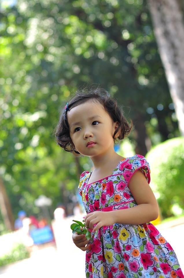 Nét cườibé gái 5 tuổi, nhìn không thể không yêu - 13