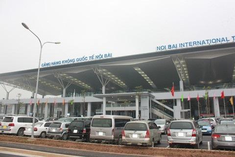 Cảng hàng không quốc tế Nội Bài.