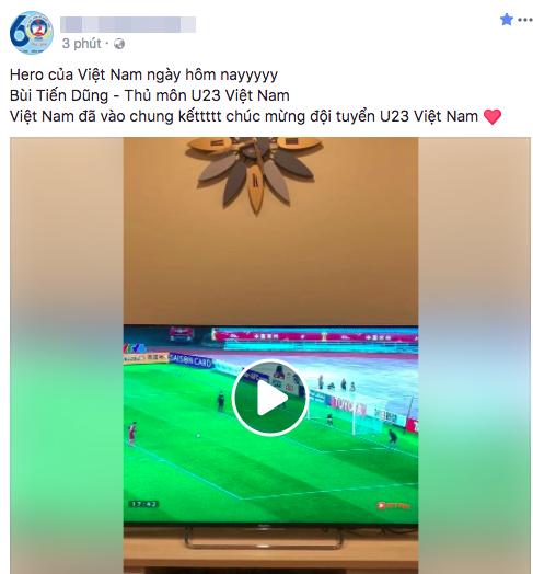 """U23 Việt Nam chiến thắng, mạng xã hội phủ kín lời chúc các """"anh hùng"""" - 10"""