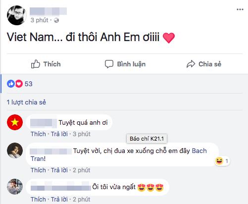 """U23 Việt Nam chiến thắng, mạng xã hội phủ kín lời chúc các """"anh hùng"""" - 4"""