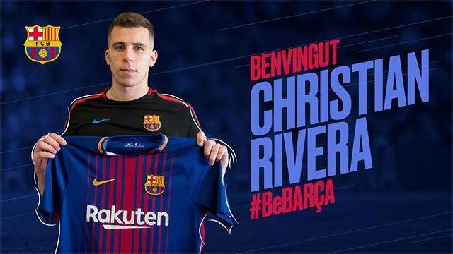 Christian Rivera gia nhập Barcelona