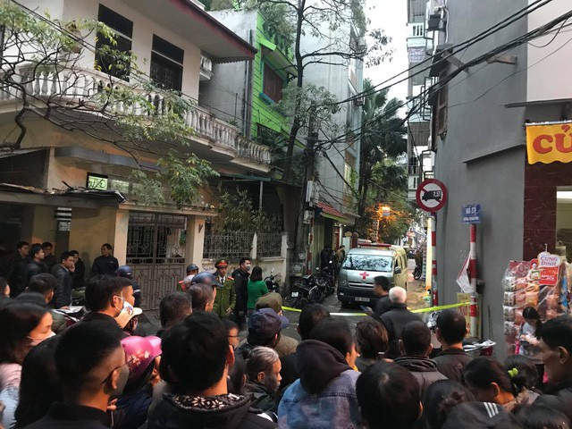 Sau nhiều ngày mất tích, chiều 3/1,thi thể ông Nguyễn Hồng Lâm, Chủ tịch UBND huyện Quốc Oai được tìm thấy tại ngôi nhà trong ngõ 279 đường Hoàng Mai, quận Hoàng Mai, Hà Nội. (Ảnh: Quang Phong)