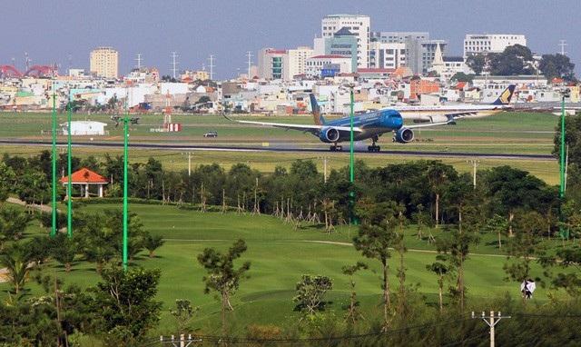 Một số diện tích đất quốc phòng, trong đó có sân golf sau quyết định của Thủ tướng được giao để mở rộng sân bay Tân Sơn Nhất
