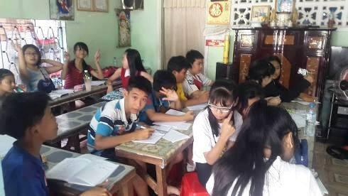 Học sinh học thêm ở TPHCM (ảnh minh họa)