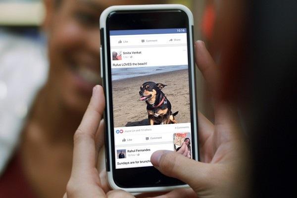 Người dùng Facebook sẽ thấy được nhiều nội dung có ý nghĩa hơn từ bạn bè và người thân trên dòng tin tức của mình