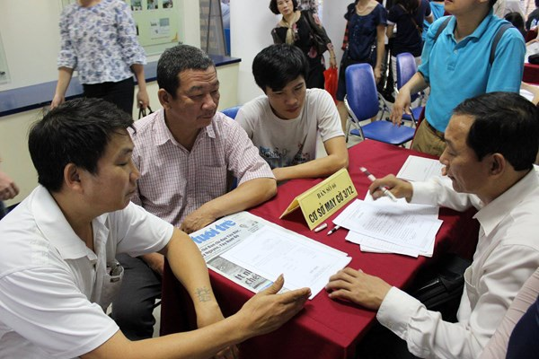 Năm 2017: Hà Nội có 213 phiên giao dịch việc làm - 1