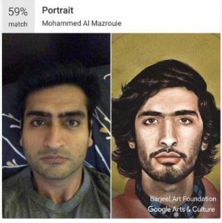 """Tính năng so sánh ảnh chân dung với tác phẩm nghệ thuật trên Google Arts & Culture đang """"gây sốt"""""""