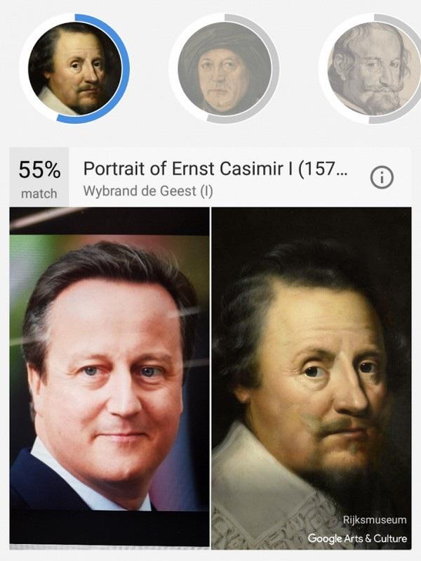 Cực độc ứng dụng cho phép tìm tác phẩm nghệ thuật giống... gương mặt của mình - 6
