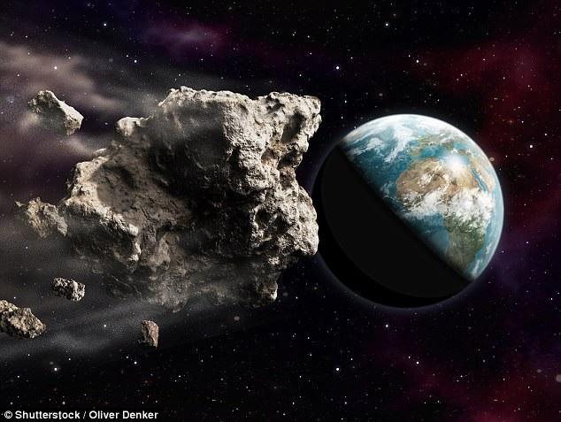 Một tiểu hành tinh vừa sượt ngang Trái Đất - 1