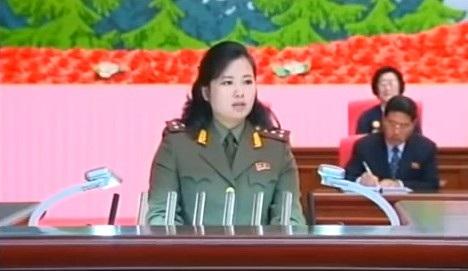 Bà Hyon là ủy viên trung ương Đảng Lao động Triều Tiên. (Ảnh: Youtube)