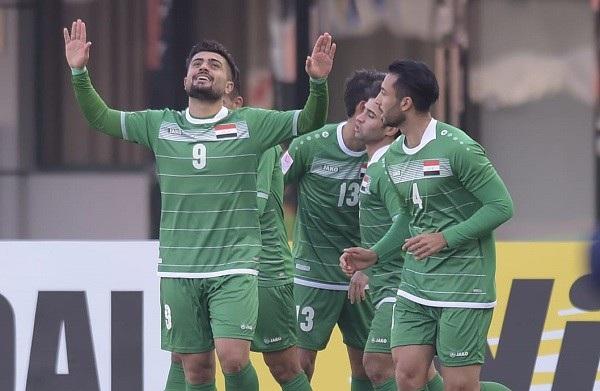 U23 Iraq được xem là có trình độ ngang ngửa với U23 Nhật Bản và U23 Hàn Quốc