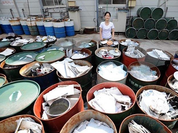 Người dân ở Kamikatsu đã quá quen với việc phân loại hàng chục loại rác thải mỗi ngày