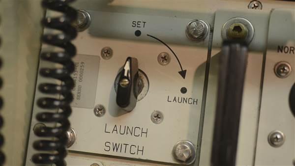 Khóa phóng tên lửa hạt nhân. (Ảnh: NBC News)