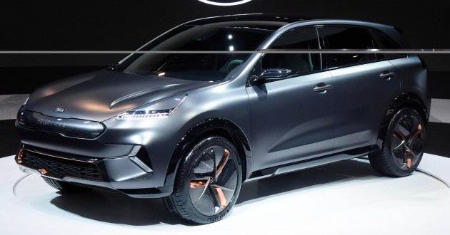 Kia Niro EV Concept - Vẻ đẹp của phong cách tối giản - 1