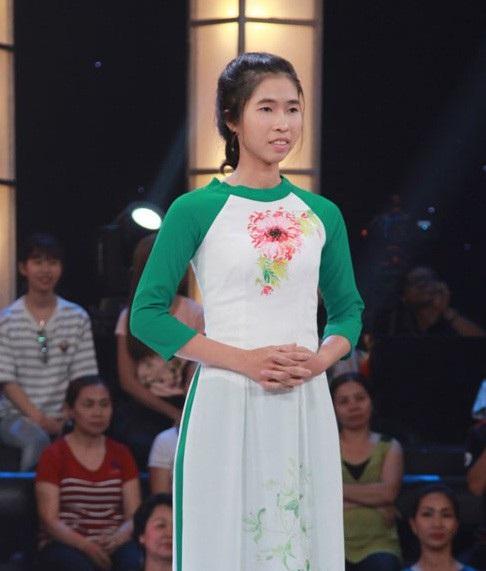 Ấn tượng hơn cả là phần thể hiện của thí sinh Kim Hoàng sinh viên năm cuối trường Đại học Nông Lâm TPHCM.