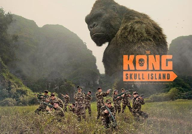 """Xem thệm: Ảnh kỷ yếu mô phỏng phim """"Kong"""" hoành tráng của học sinh Ninh Bình"""